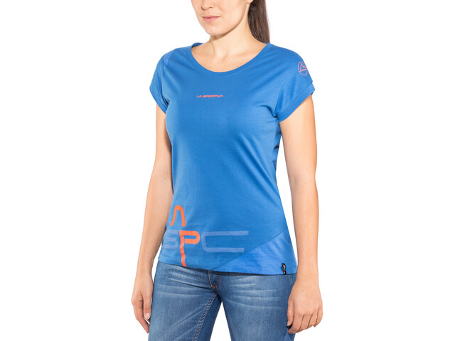 La Sportiva Shortener T-shirt Dam marine blue